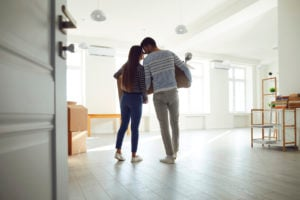 new homebuyers moving in